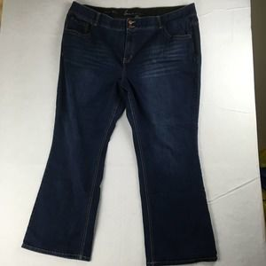 Lane Bryant Bootcut Jeans Womens 26 Blue
